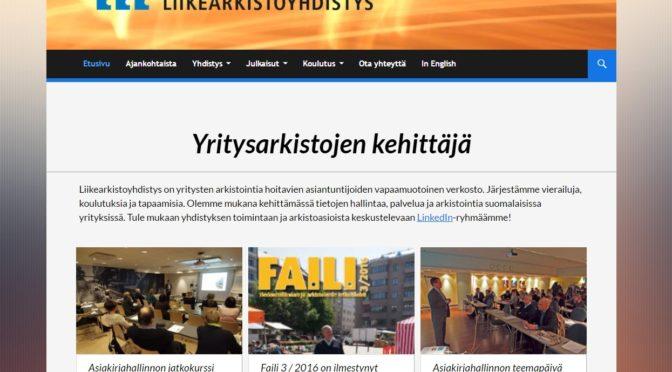 Uudet verkkosivut julkaistu