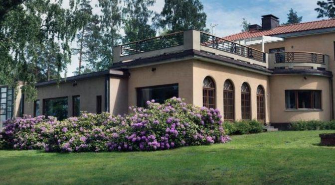 Vierailu Villa Gyllenbergissä 12.9.2017